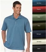 13Z0062 Izod Mens Pima Cool Knit Performance Polo Shirts