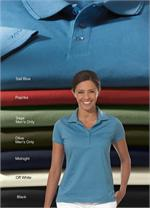 13Z0082 IZOD Ladies - Womens Pima Cool Knit Performance Polo Shirts