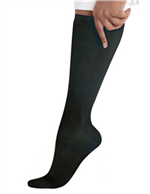 14317 - BLACK Landau Knee High Compression Socks - 1 PR, aaron richman