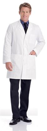3161 Landau Men's Premium Lab Coat, aaron richman