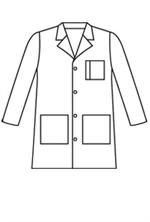 3166 Landau Men's Lab Coat