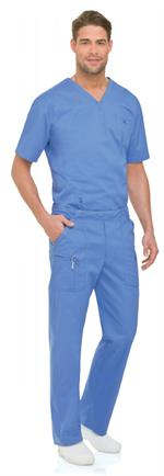 Landau 2007 Landau 2007 Mens 8-Pocket Banded Mens Scrubs Cargo Pants