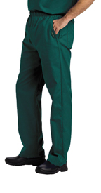 Landau Scrubs 8550 Landau 8550 Mens Elastic Waist Pants - Hunter Green