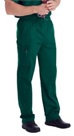 Landau Scrubs 8555 Landau 8555 Mens Scrubs Cargo Pants - Hunter Green