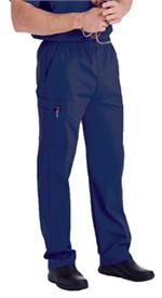 Landau Scrubs 8555 Landau 8555 Mens Scrubs Cargo Pants - Patriot Blue