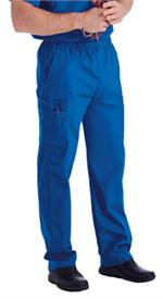 Landau Scrubs 8555 Landau 8555 Mens Scrubs Cargo Pants - Royal Blue