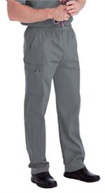 Landau Scrubs 8555 Landau 8555 Mens Scrubs Cargo Pants - Steel Grey