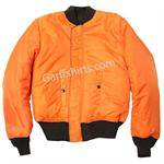 alpha industries MA1 flight jackets, flight coats