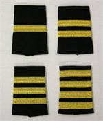 Gold Metallic on Black Epaulets-Shoulder Boards, aaron richman