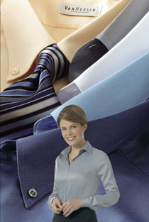 Van Heusen Men's & Women's Business Casual Dress Shirts