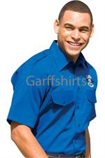 Blue Pilot Shirts, Yellow Pilot Shirts, Red Pilot Shirts, Edwards Uniform Shirts, Edwards Safari Shirts