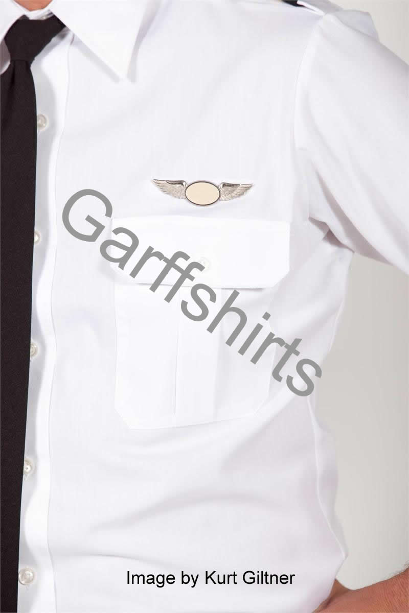 Van Heusen The Pilot Model/Style Pilot Shirts - Tapered Pilot Shirts, Short Sleeve Pilot Shirts, Long Sleeve Pilot Shirts and Tall Pilot Shirts with eyelets for name badge or wings