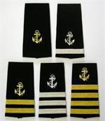 Yachting Epaulets, Yacht Epaulets, Maritime Epaulets