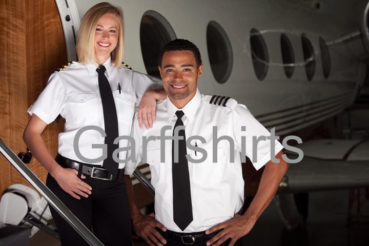 Pilot Shirts - Mens Pilot Uniform Shirts, Womens Pilot Shirts, Tall Pilot Shirts, Tapered Pilot Shirts, The Aviator Pilot Shirts, Commander Pilot Shirts, Tapered Pilot Shirts and Blue Pilot Uniform Shirts, Van Heusen Pilot Shirts