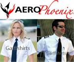 Aero Phoenix Elite Pilot Shirts Mens and Womens
