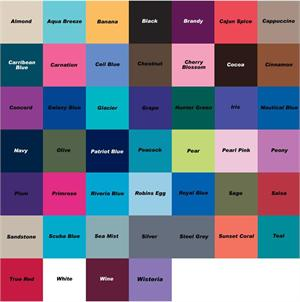 Greys anatomy scrub color chart