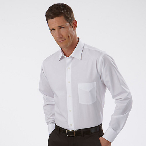 White Dress Shirt Men