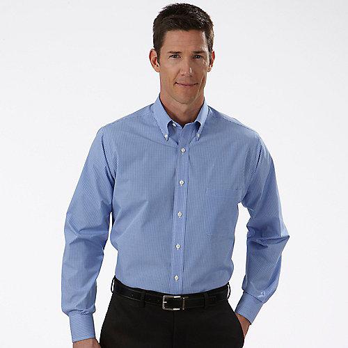Van heusen dress shirts mens gingham long sleeve dress shirts for Good mens dress shirts