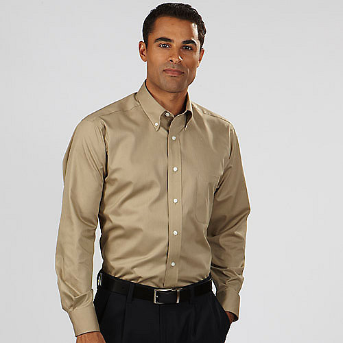 Van Heusen Twill Dress Shirts Mens Long 13v0521 Short
