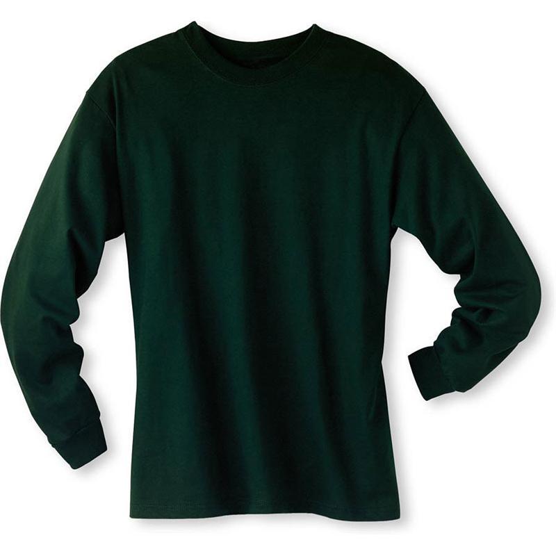 Hanes 5186 6 1 Oz Cotton Long Sleeve Beefy T Tee Shirts