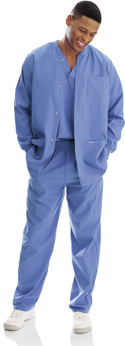 Landau Scrubs 7551 Landau 7551 Men's Scrubs Warm-Up Jackets