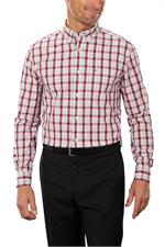 Tommy Hilfiger 13H1860 Mens Cotton Baron Plaid Dress Shirts