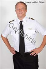 Mens Pilot SHORT SLEEVE Pilot Shirts With Eyelets - Photo by Kurt Giltner