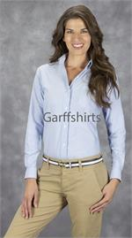 Blue Berry - Van Heusen Womens Oxford Long Sleeve - Alpha Sized
