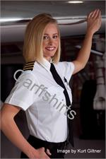 The Aviator Womens - Ladies Pilot Shirts - Short Sleeve and Long Sleeve Womens Pilot Uniform Shirts